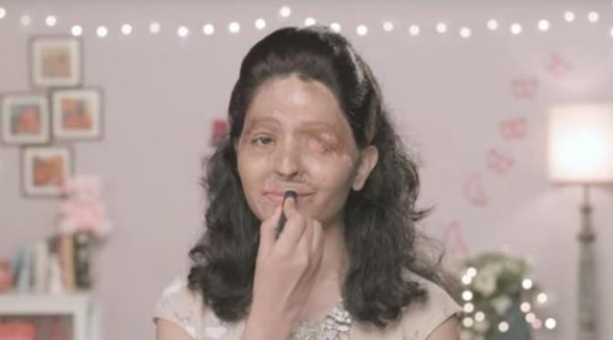 Le tutoriel beauté d'une jeune indienne : signer la pétition