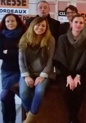 Laetitia Langella présidente du Club de la Presse de Bordeaux