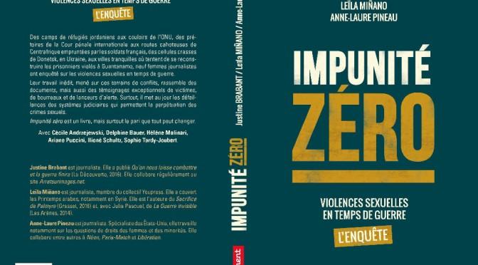 Impunité zéro: nos consoeurs publient